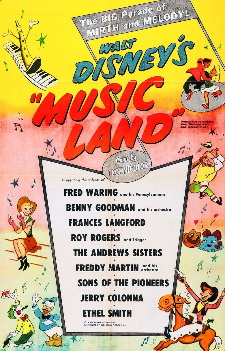Music Land movie poster