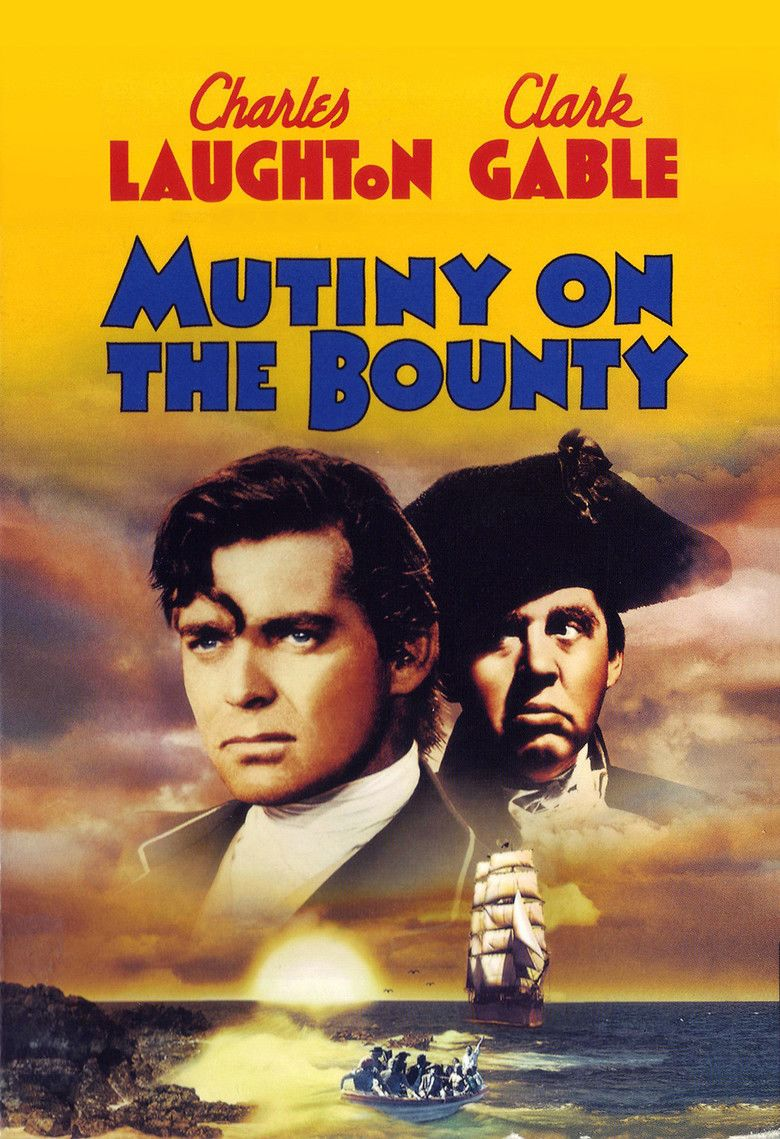 Mutiny on the Bounty (1935 film) movie poster
