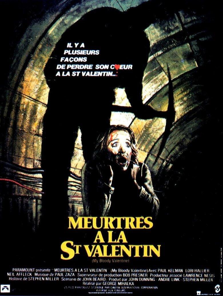 My Bloody Valentine (film) movie poster