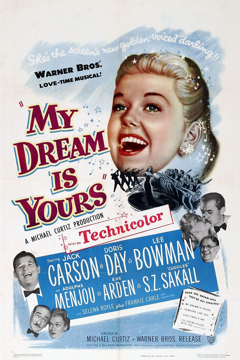 My Dream Is Yours movie poster