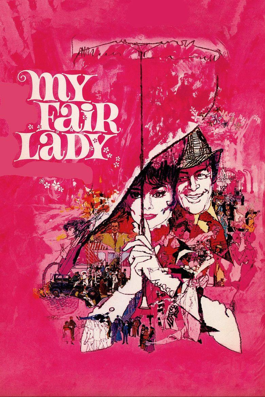 My Fair Lady (film) movie poster
