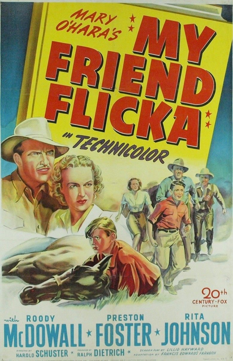 My Friend Flicka (film) movie poster