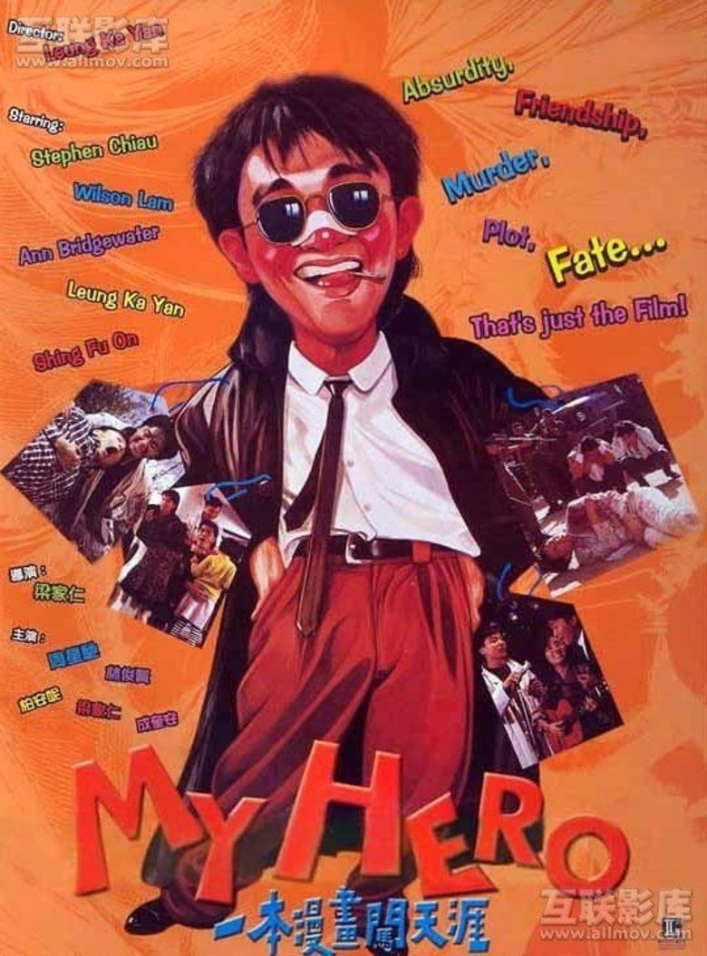 My Hero (1990 film) movie poster
