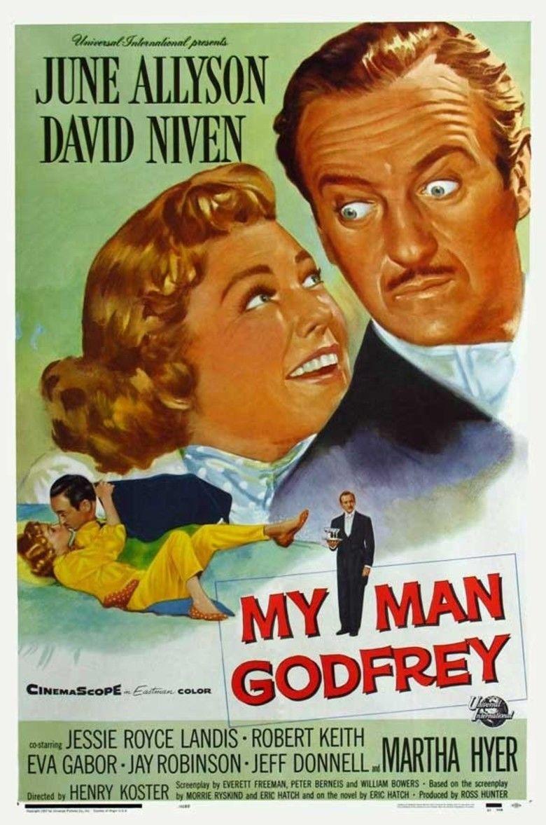 My Man Godfrey (1957 film) movie poster