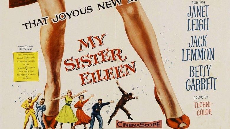 My Sister Eileen (1955 film) movie scenes