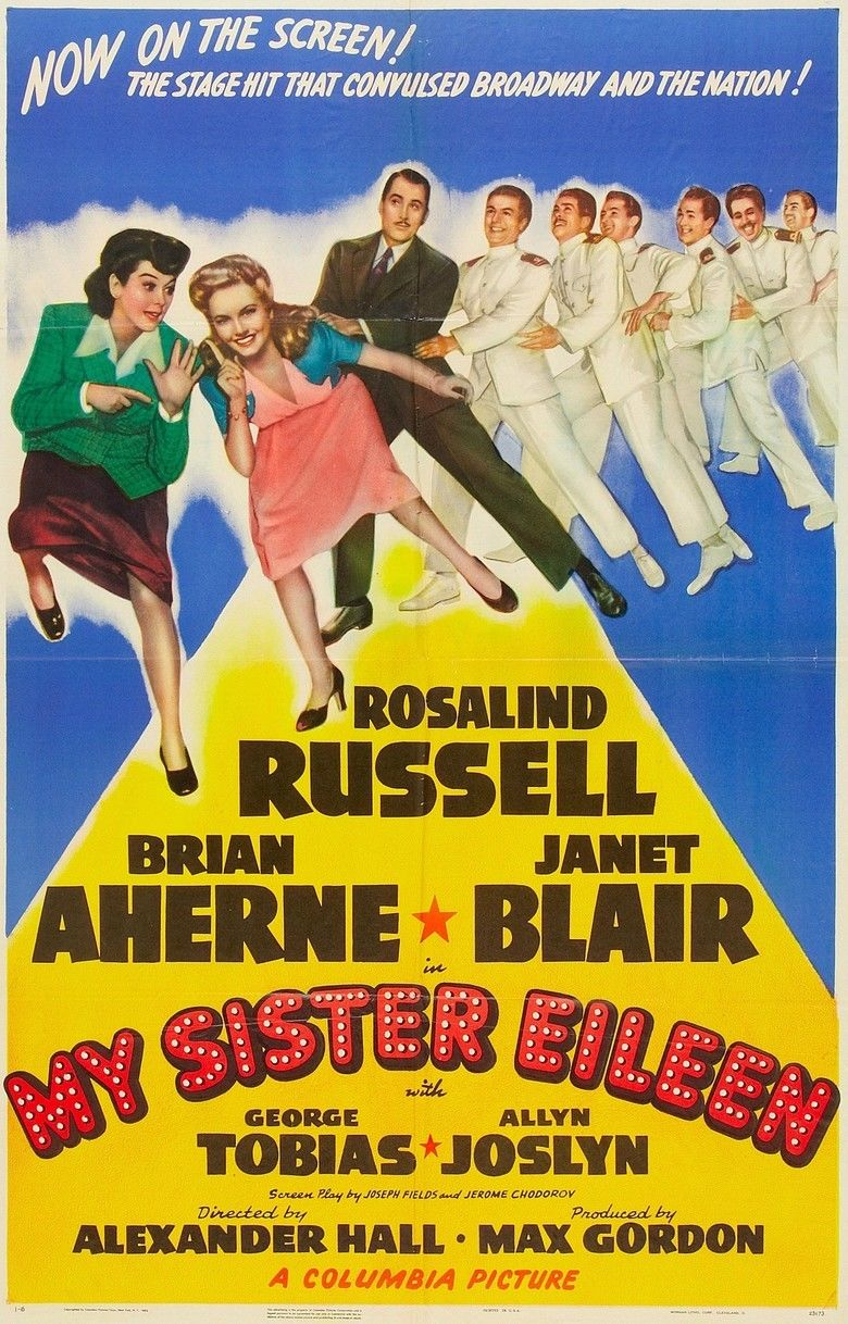My Sister Eileen movie poster