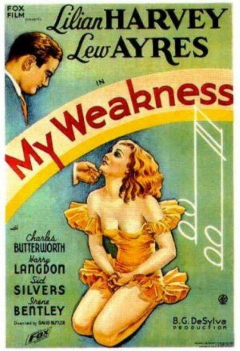 My Weakness (film) movie poster