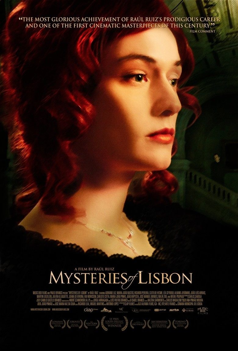 Mysteries of Lisbon movie poster