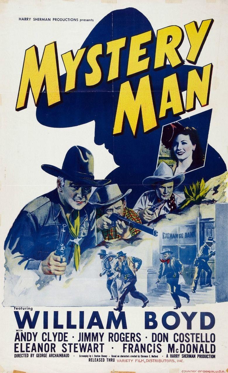 Mystery Man (film) movie poster