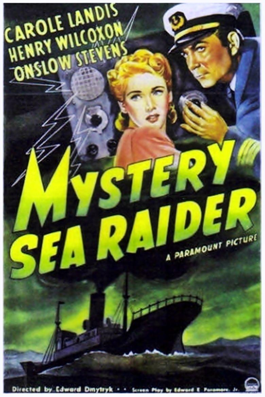 Mystery Sea Raider movie poster