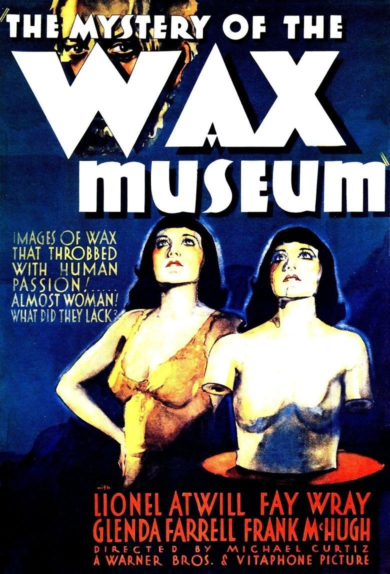 Mystery of the Wax Museum movie poster