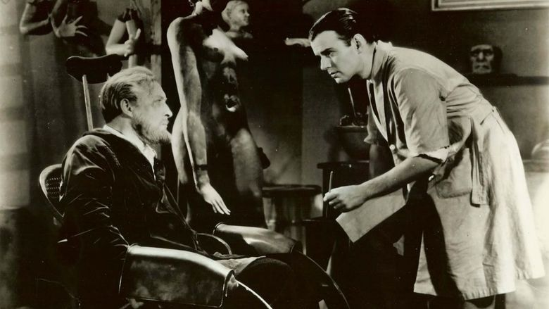 Mystery of the Wax Museum movie scenes