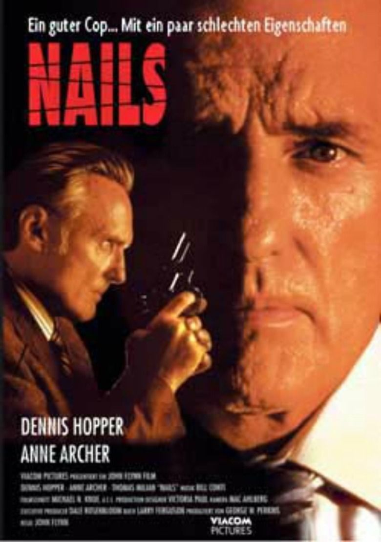 Nails (1992 film) movie poster