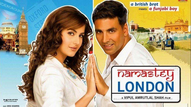 Namastey London movie scenes