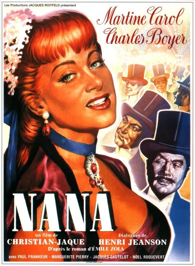 Nana (1955 film) movie poster