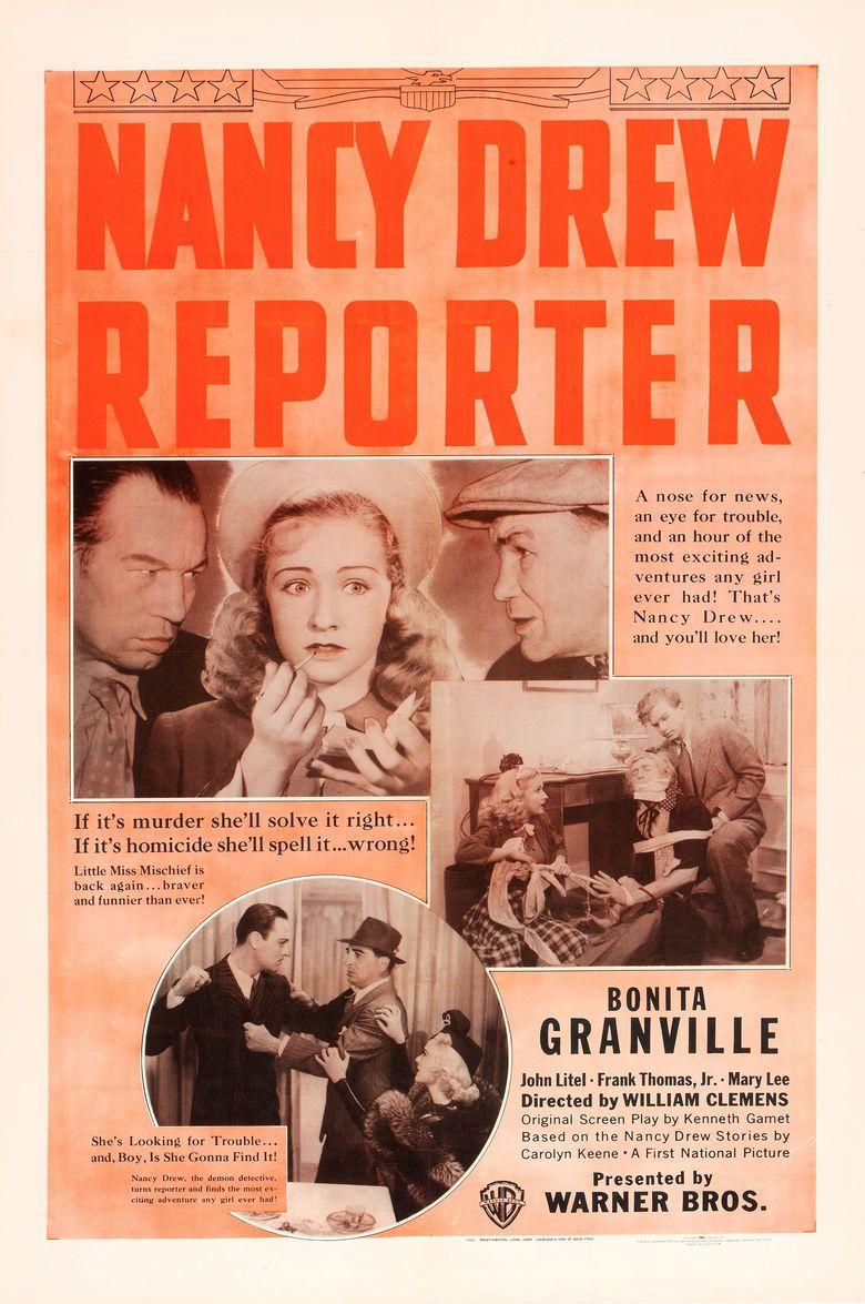 Nancy Drew Reporter movie poster