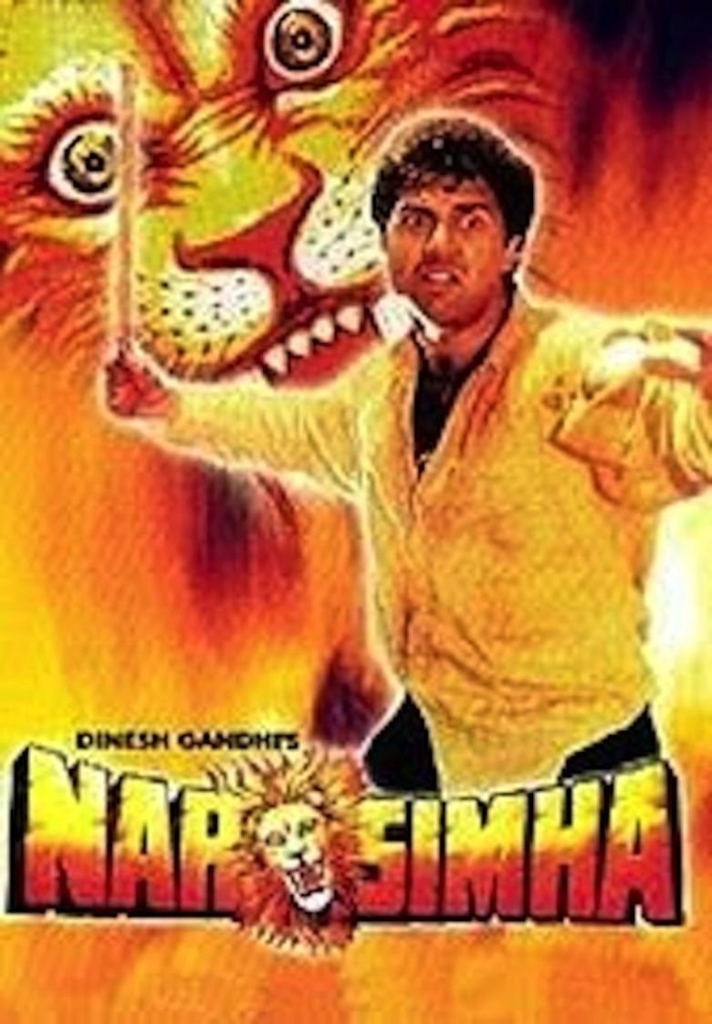 Narsimha (1991 film) movie poster