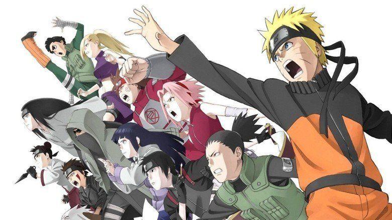 Naruto Shippuden the Movie: The Will of Fire movie scenes