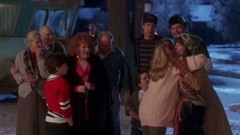 National Lampoons Christmas Vacation movie scenes