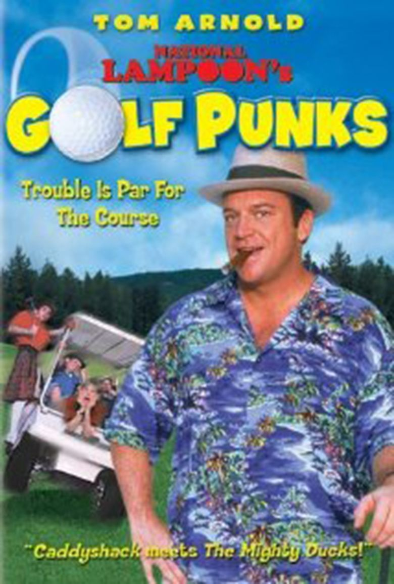 National Lampoons Golf Punks movie poster
