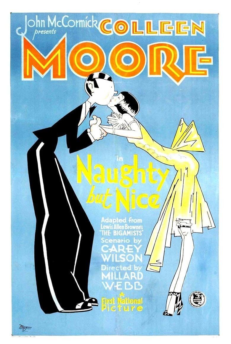 Naughty But Nice (1927 film) movie poster