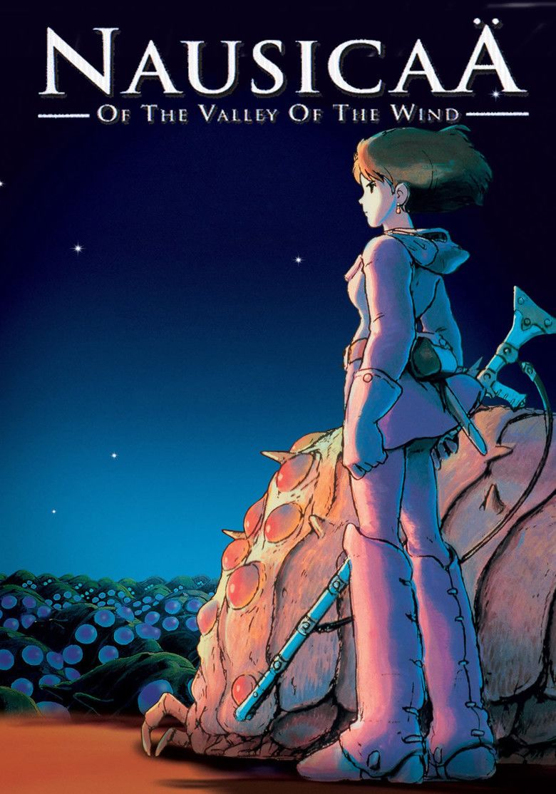 Nausicaa of the Valley of the Wind (film) movie poster