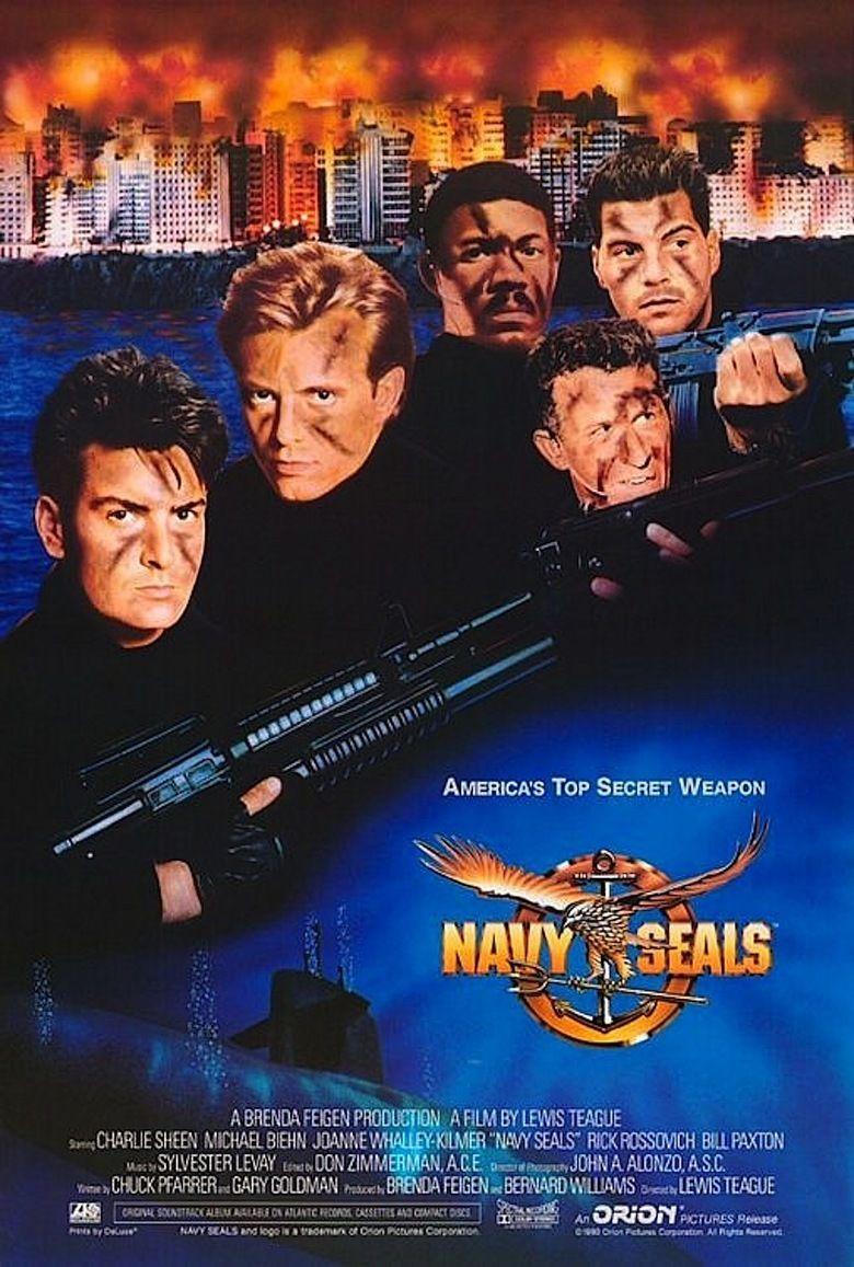 Navy SEALs (film) movie poster