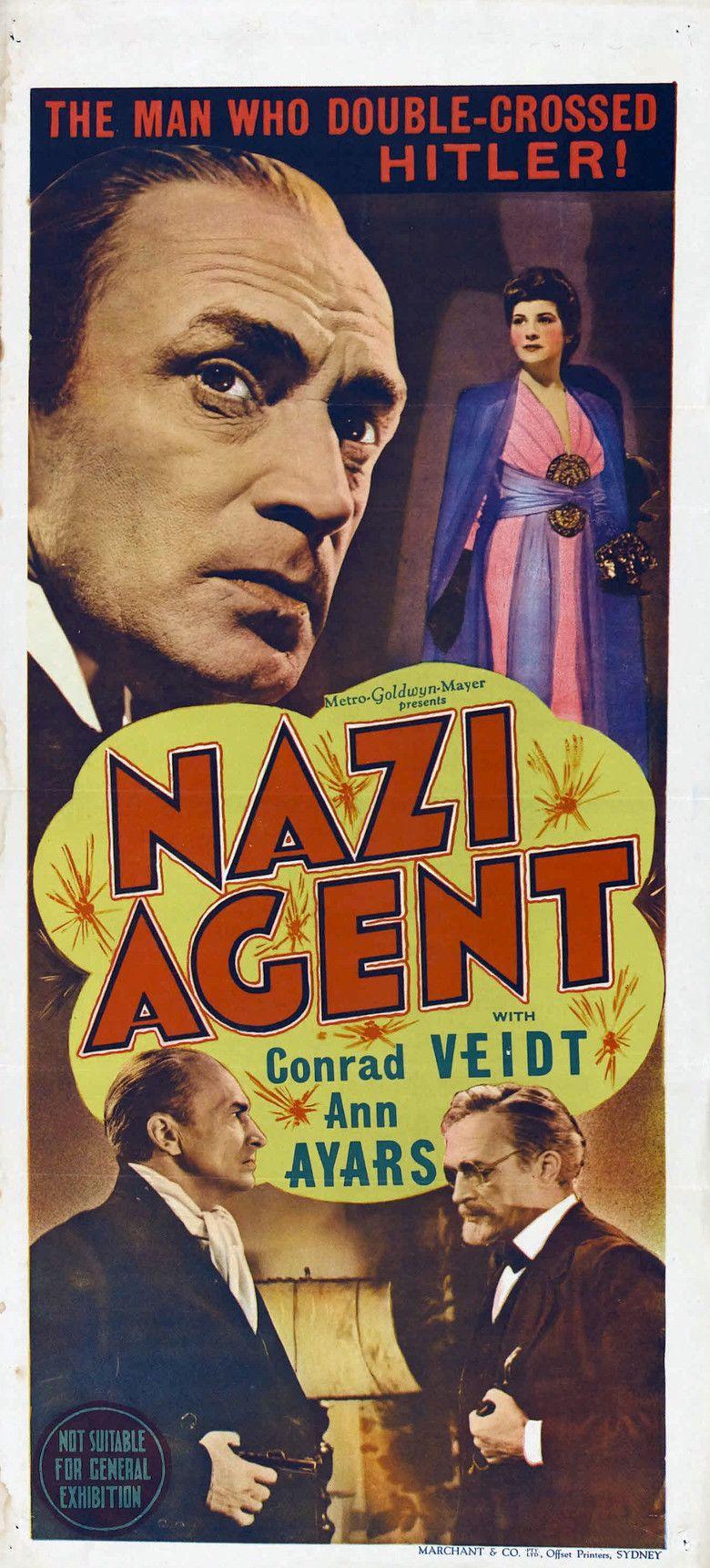 Nazi Agent movie poster