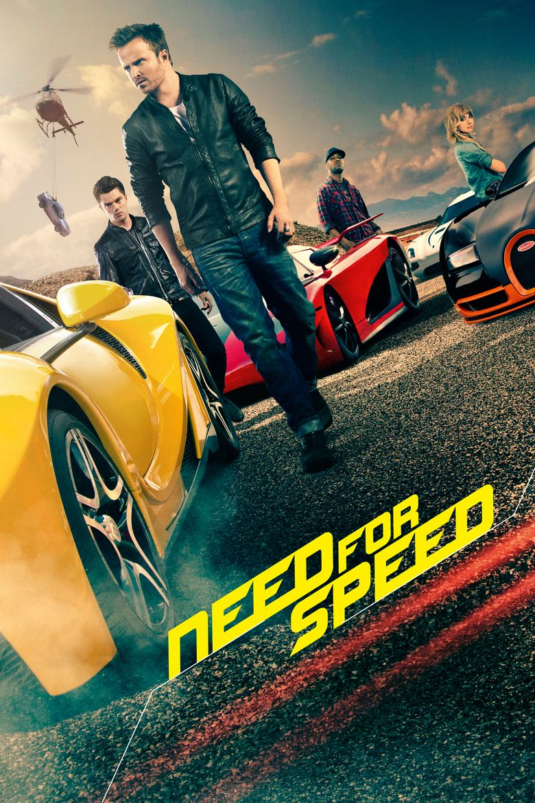 Need for Speed (film) movie poster