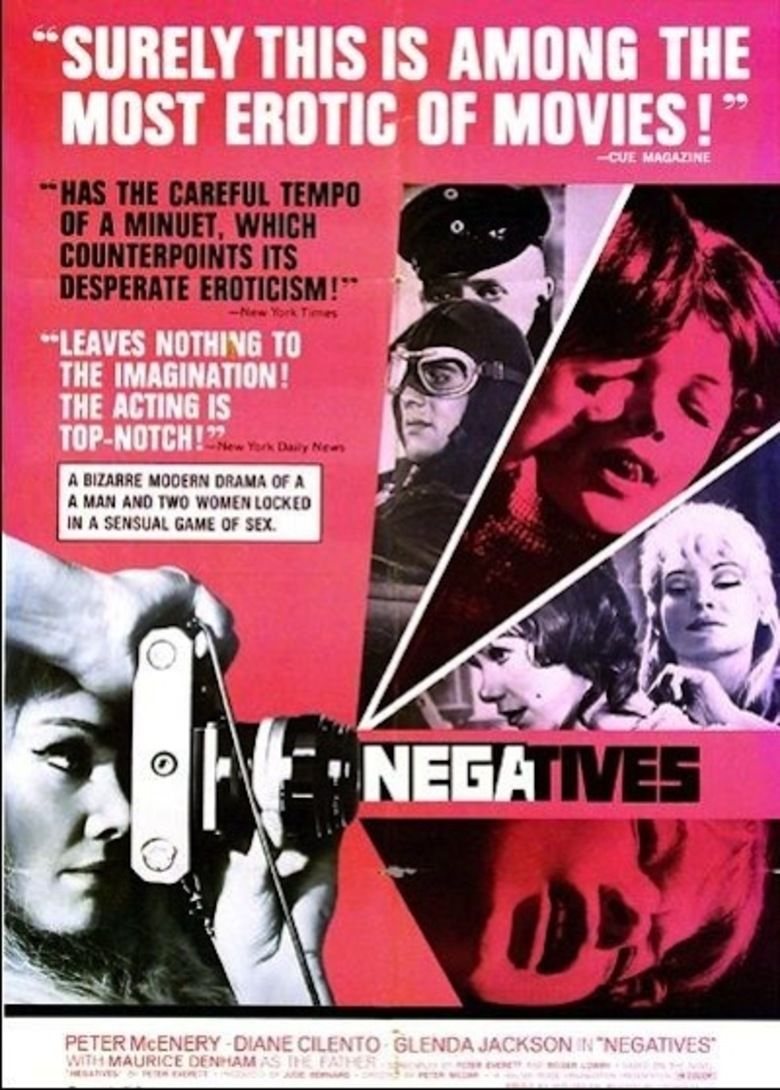 Negatives (1968 film) movie poster