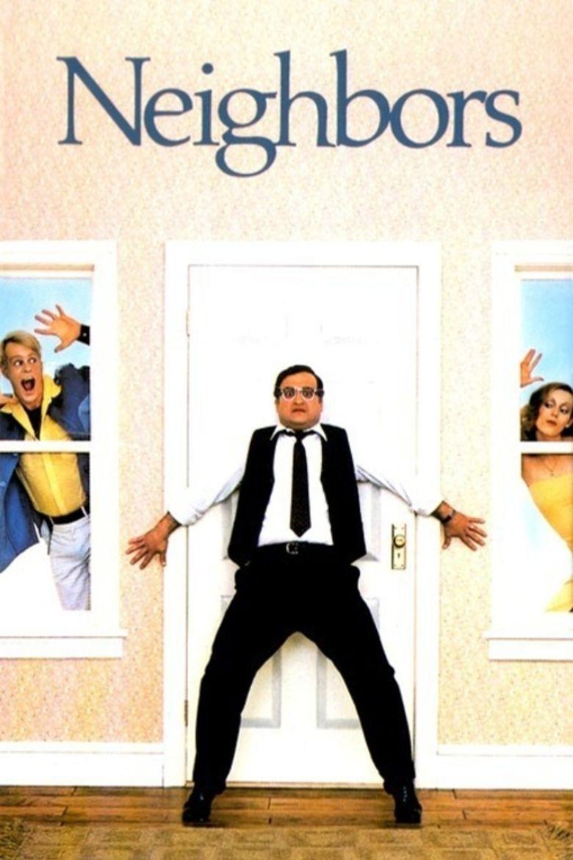 Neighbors (1981 film) movie poster