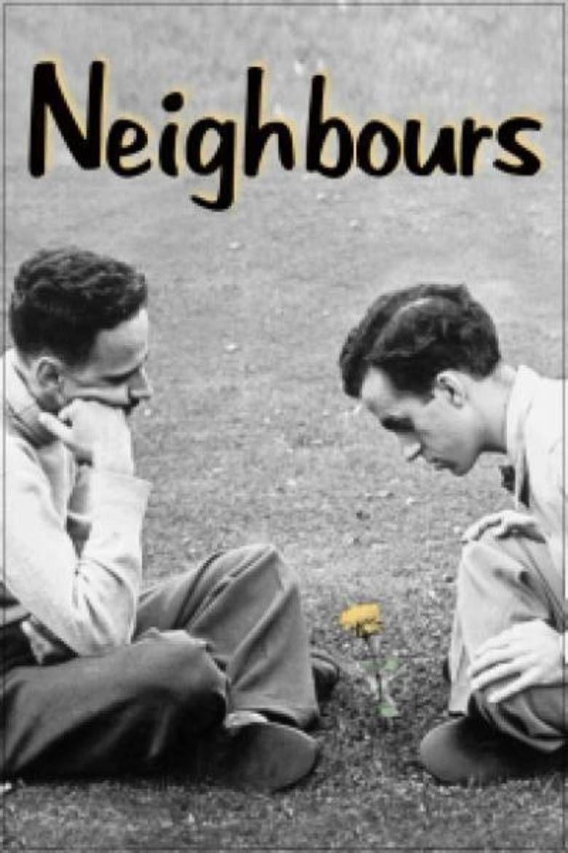 Neighbours (1952 film) movie poster