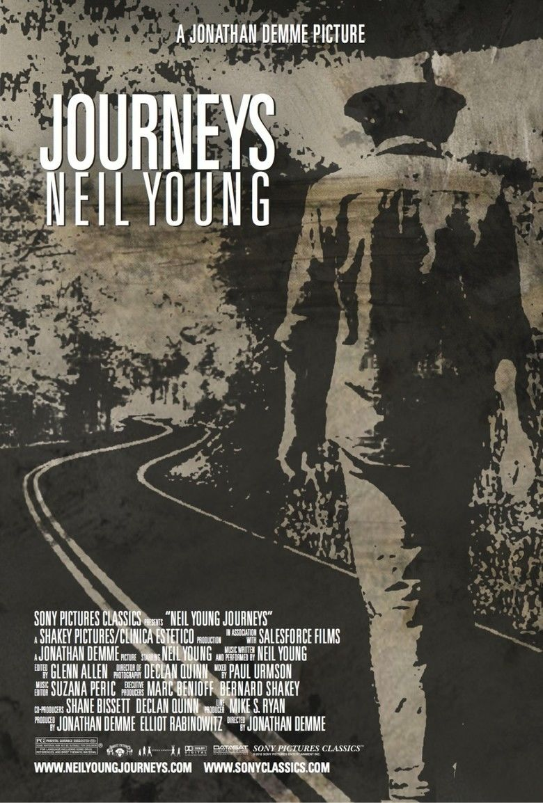 Neil Young Journeys movie poster