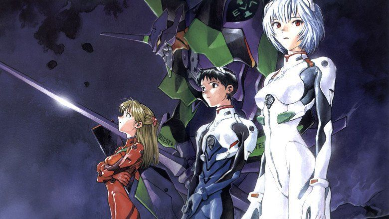 Neon Genesis Evangelion: Death and Rebirth movie scenes