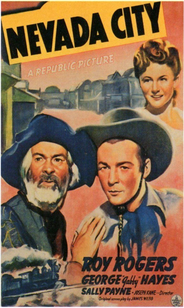 Nevada City (1941 film) movie poster