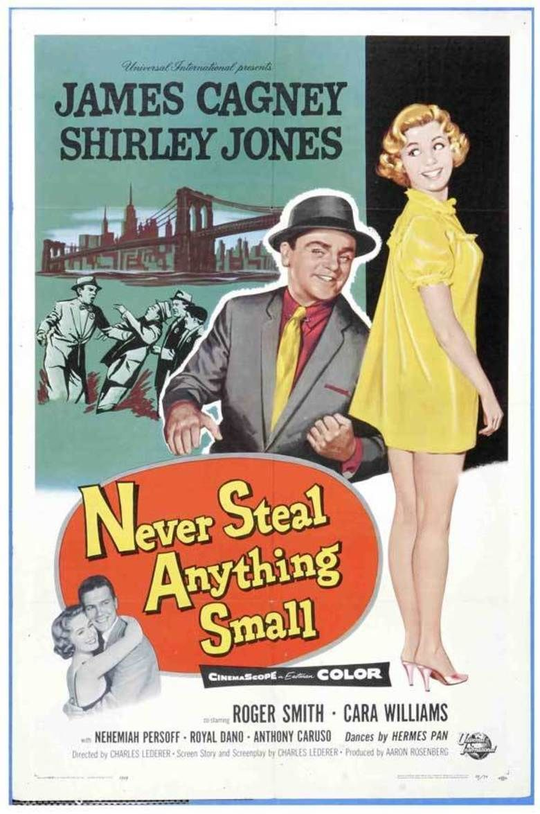 Never Steal Anything Small movie poster