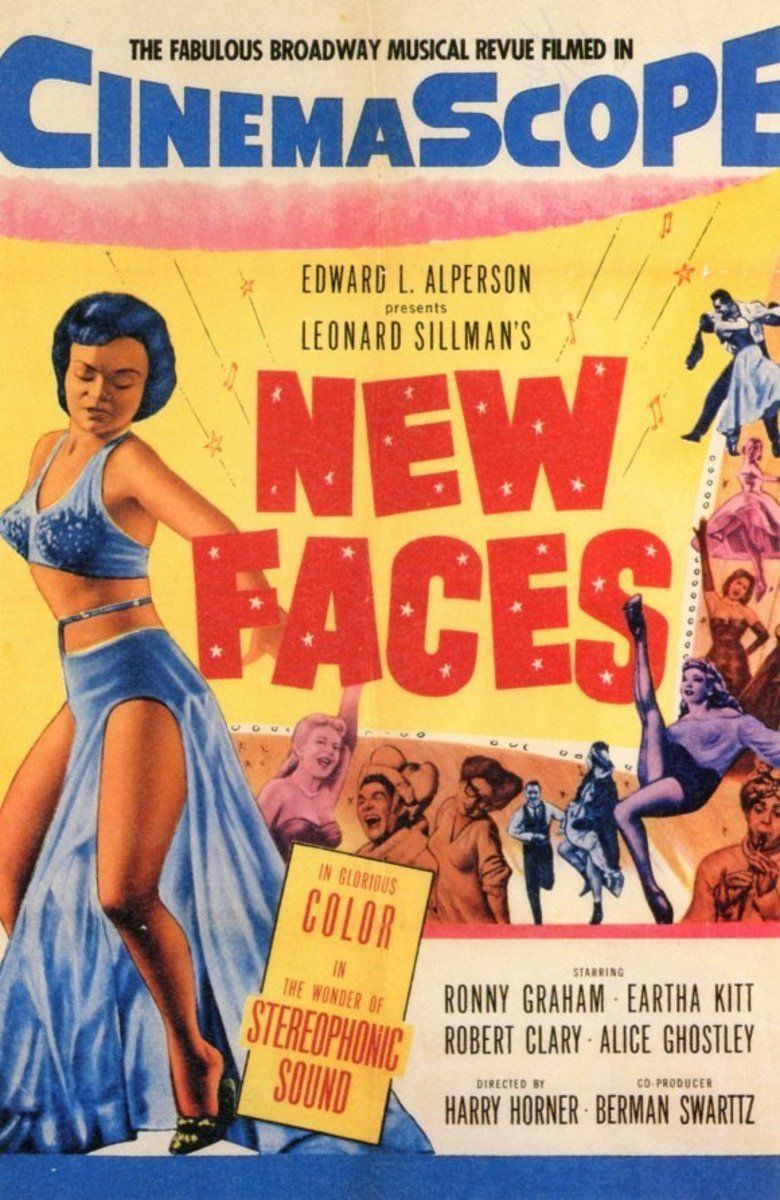 New Faces (film) movie poster