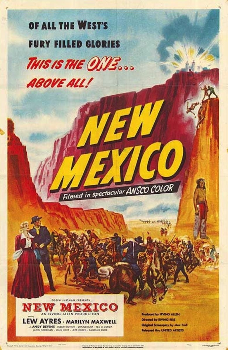 New Mexico (film) movie poster