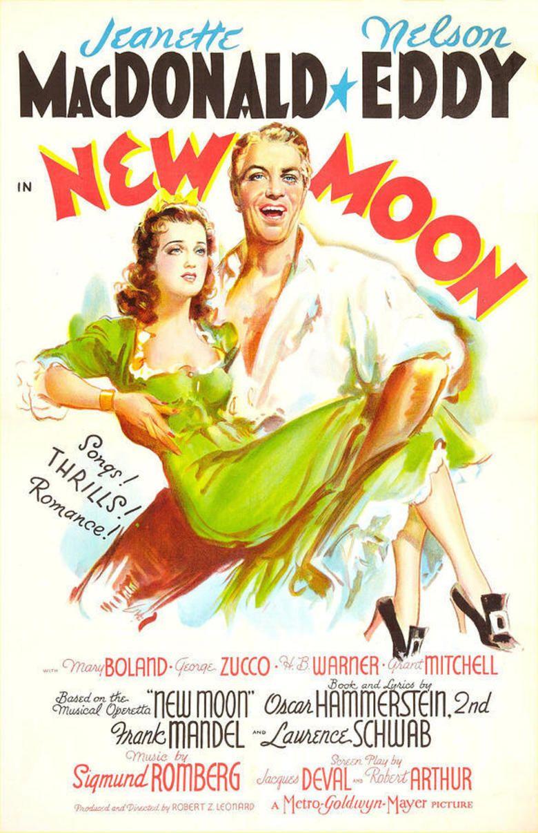 New Moon (1940 film) movie poster