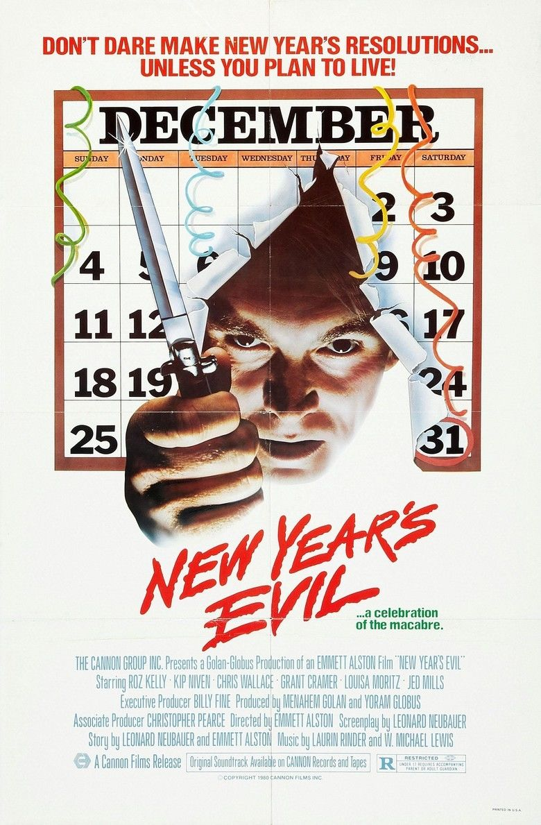 New Years Evil (film) movie poster