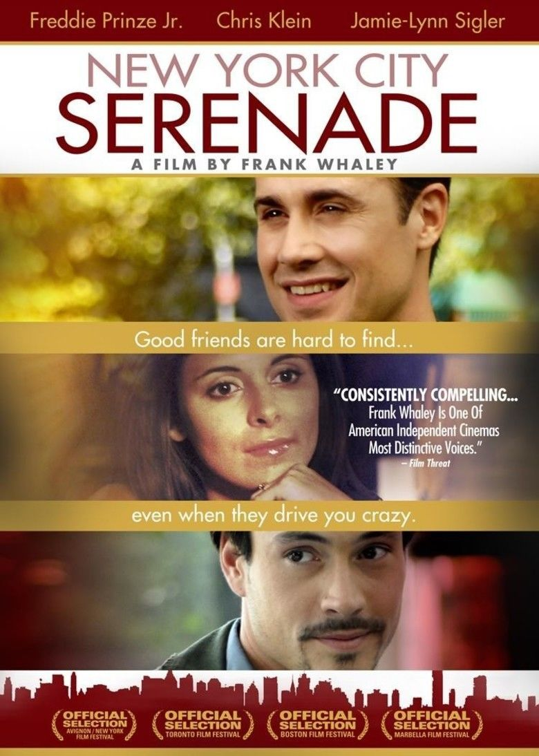 New York City Serenade (film) movie poster