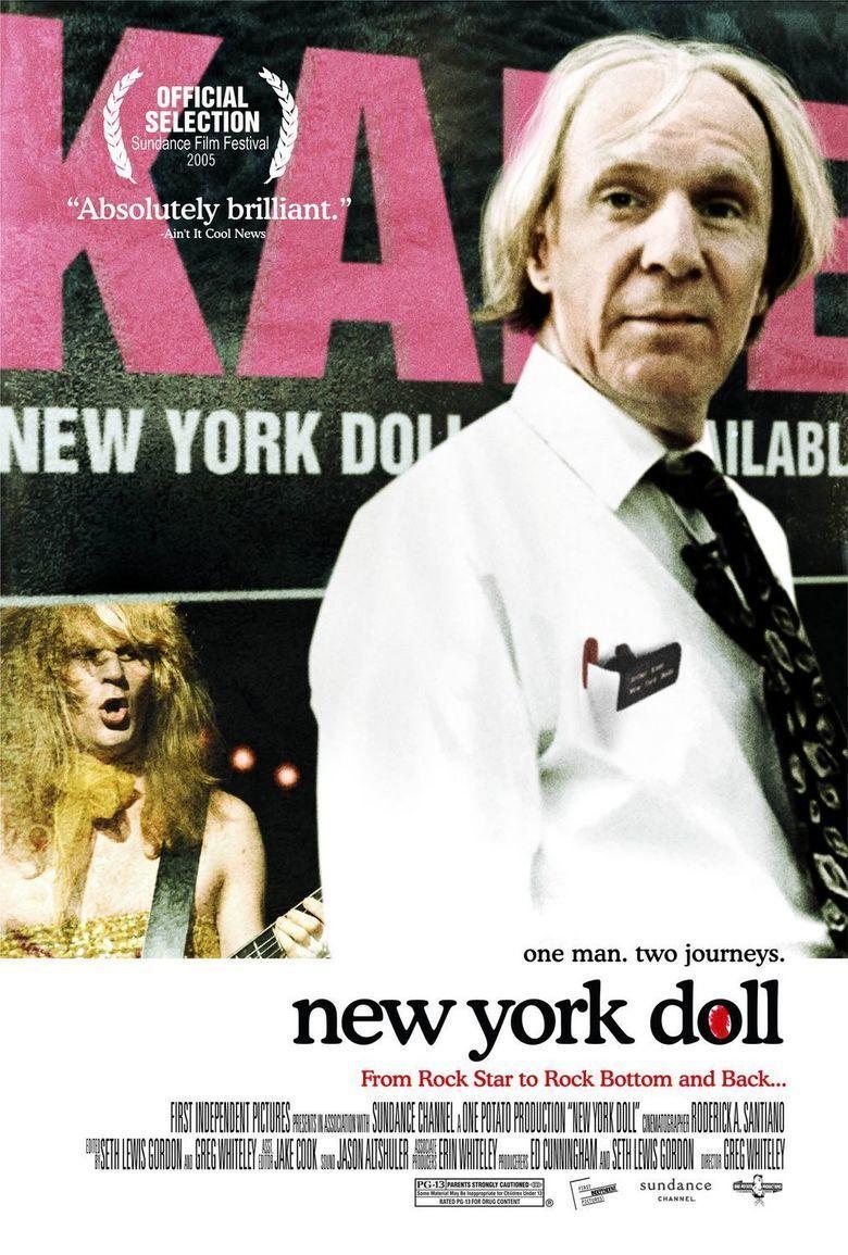 New York Doll movie poster