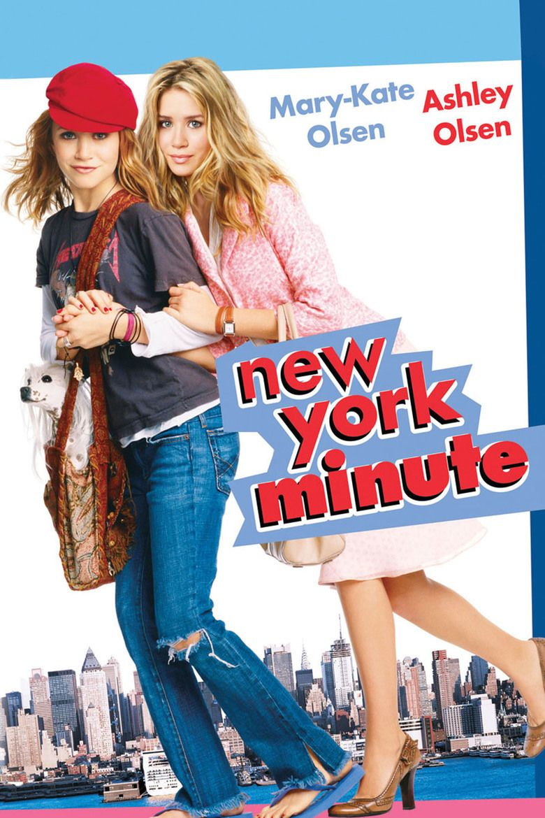 New York Minute (film) movie poster