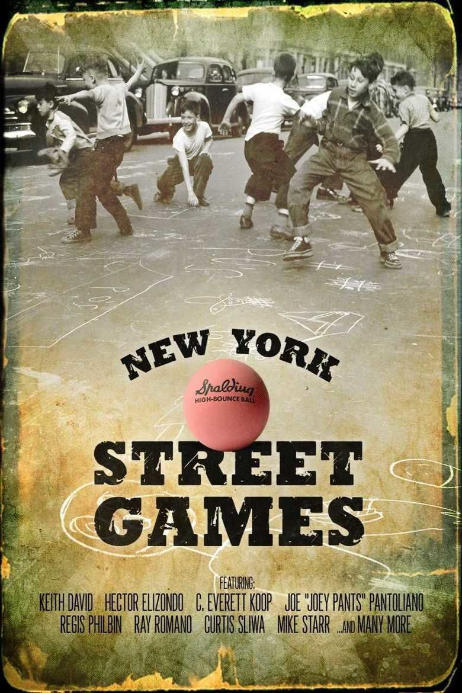 New York Street Games movie poster