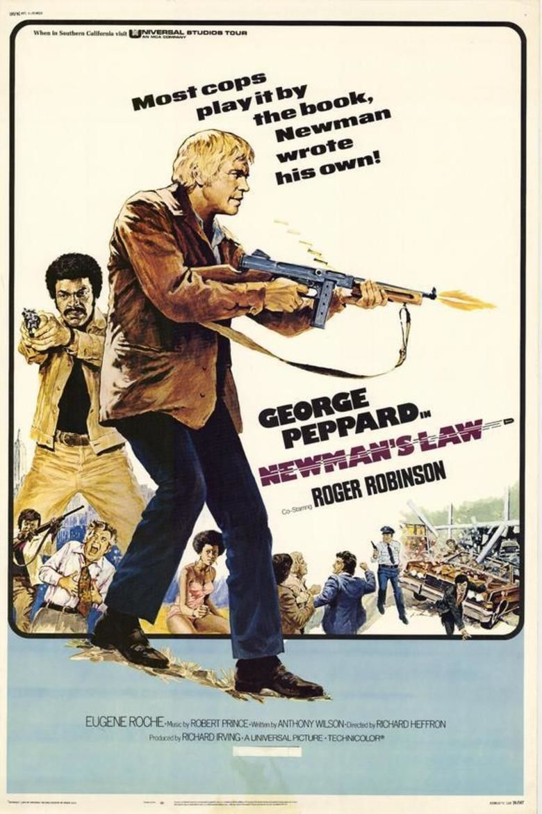 Newmans Law movie poster