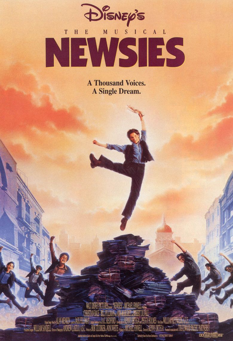 Newsies movie poster