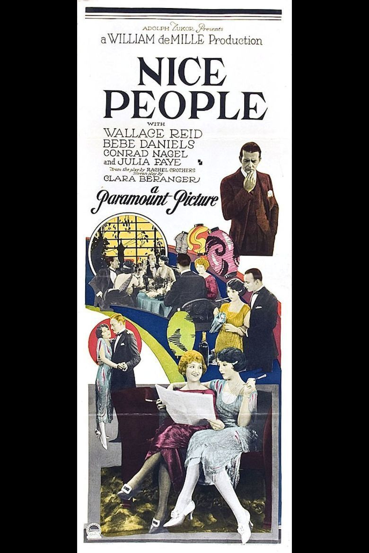 Nice People movie poster