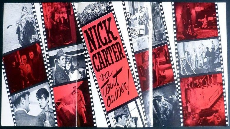 Nick Carter va tout casser movie scenes