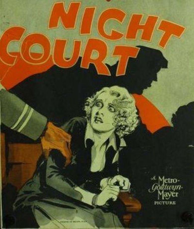 Night Court (film) movie poster