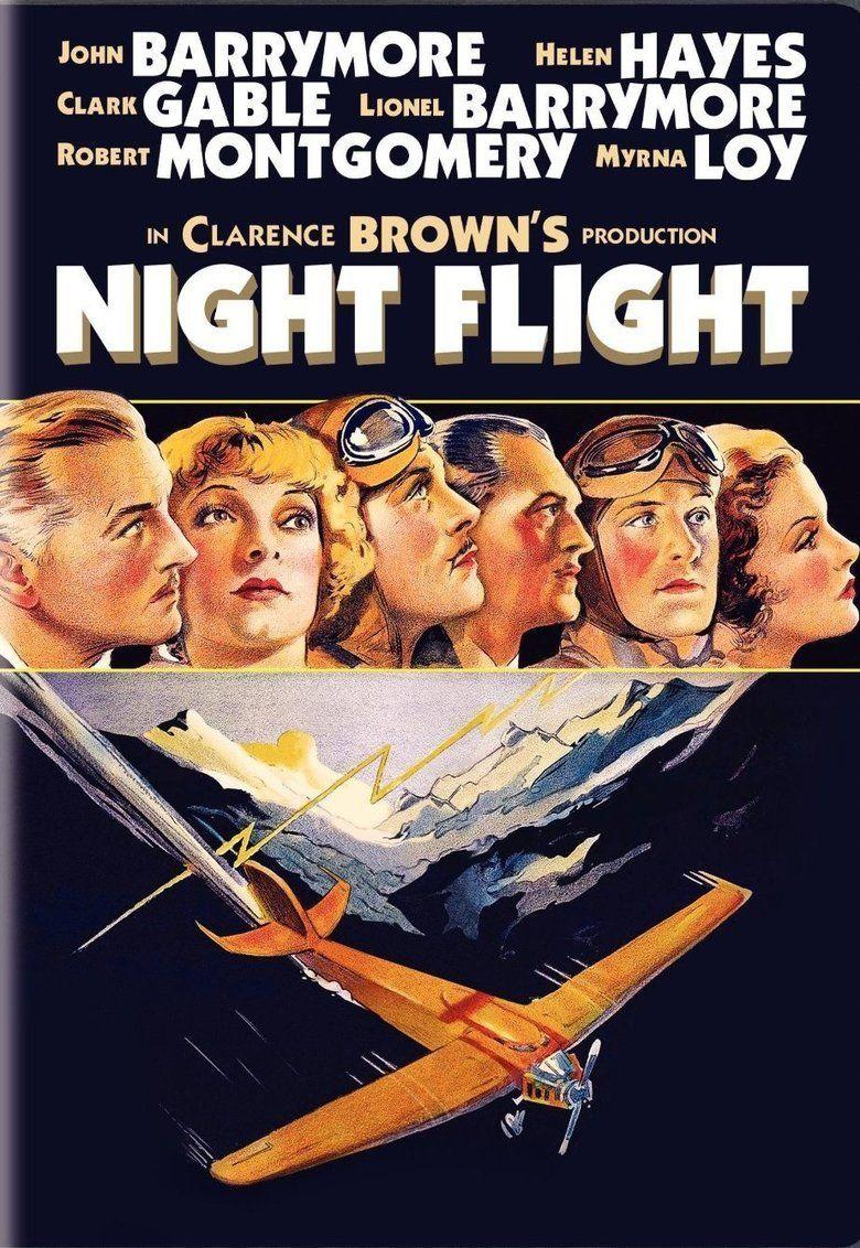 Night Flight (1933 film) movie poster
